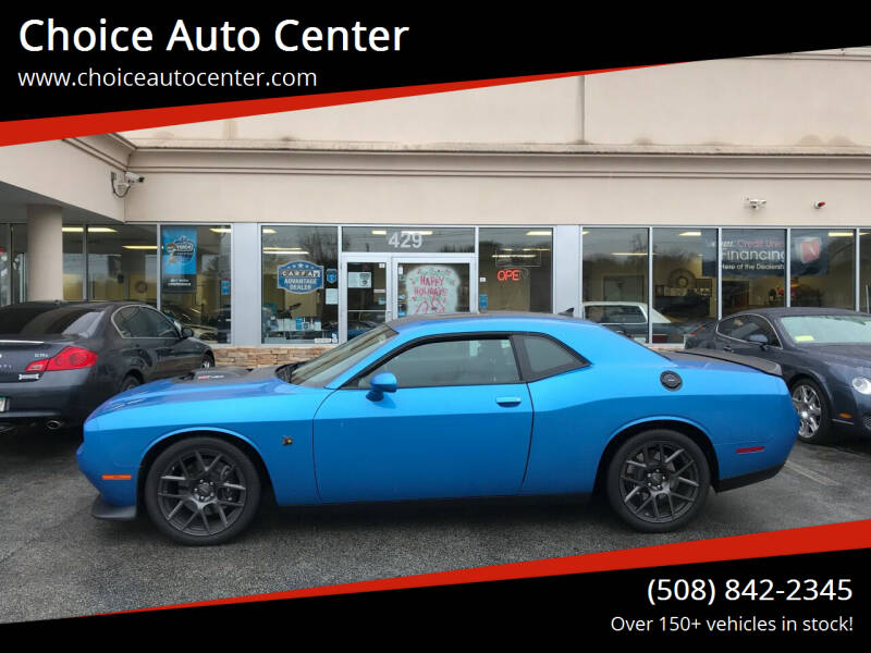 2016 Dodge Challenger for sale at Choice Auto Center in Shrewsbury MA