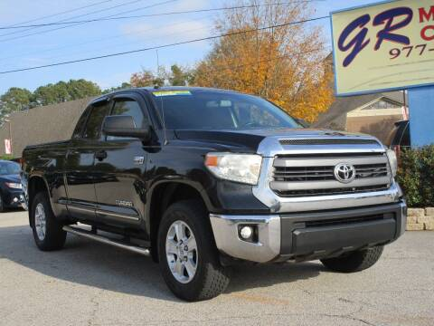 2014 Toyota Tundra for sale at GR Motor Company in Garner NC