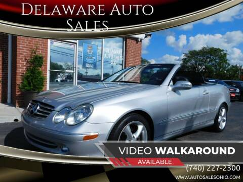 2005 Mercedes-Benz CLK for sale at Delaware Auto Sales in Delaware OH