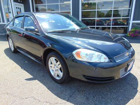 2012 Chevrolet Impala for sale at Akron Auto Sales in Akron OH