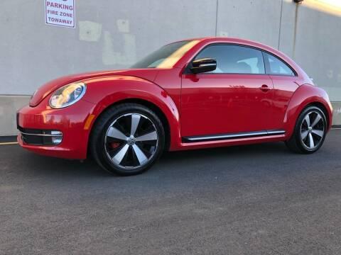 2012 Volkswagen Beetle for sale at International Auto Sales in Hasbrouck Heights NJ