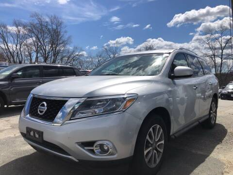 2016 Nissan Pathfinder for sale at Top Line Import of Methuen in Methuen MA