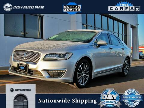 2017 Lincoln MKZ Hybrid for sale at INDY AUTO MAN in Indianapolis IN