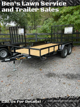 2022 Doolittle UT77X147K for sale at Ben's Lawn Service and Trailer Sales in Benton IL