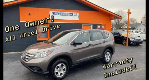 2014 Honda CR-V for sale at West Chester Autos in Hamilton OH