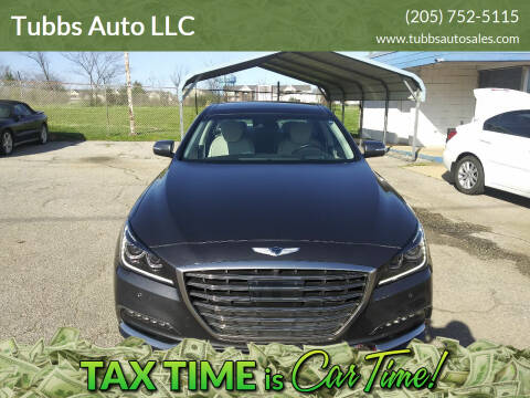 2018 Genesis G80 for sale at Tubbs Auto LLC in Tuscaloosa AL