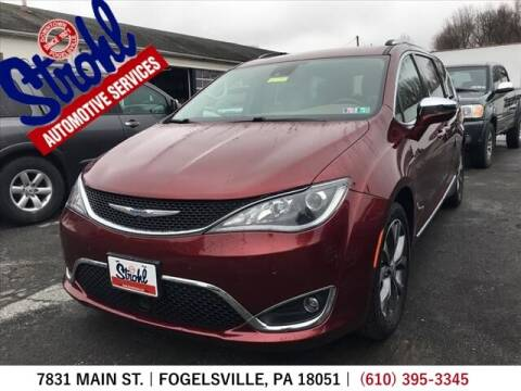 2017 Chrysler Pacifica for sale at Strohl Automotive Services in Fogelsville PA