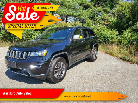2019 Jeep Grand Cherokee for sale at Westford Auto Sales in Westford MA