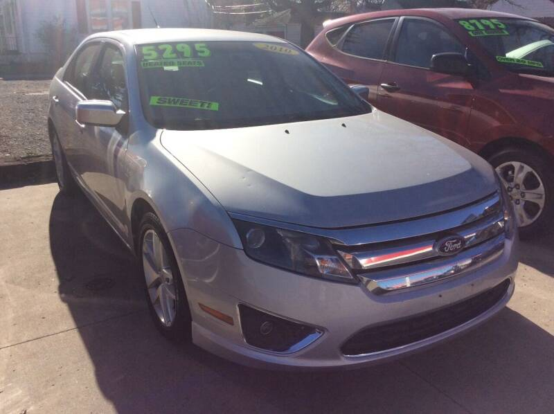 2010 Ford Fusion for sale at Harrison Family Motors in Topeka KS