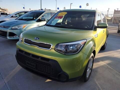 2015 Kia Soul for sale at Hugo Motors INC in El Paso TX