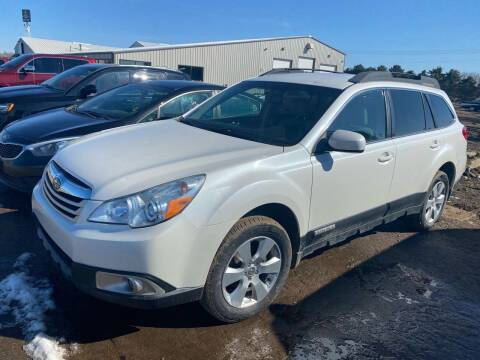 2012 Subaru Outback for sale at BERG AUTO MALL & TRUCKING INC in Beresford SD