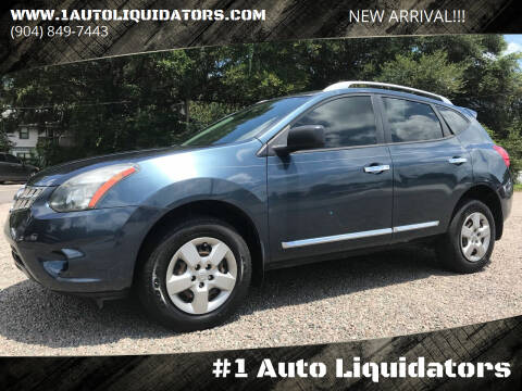 2014 Nissan Rogue Select for sale at #1 Auto Liquidators in Yulee FL