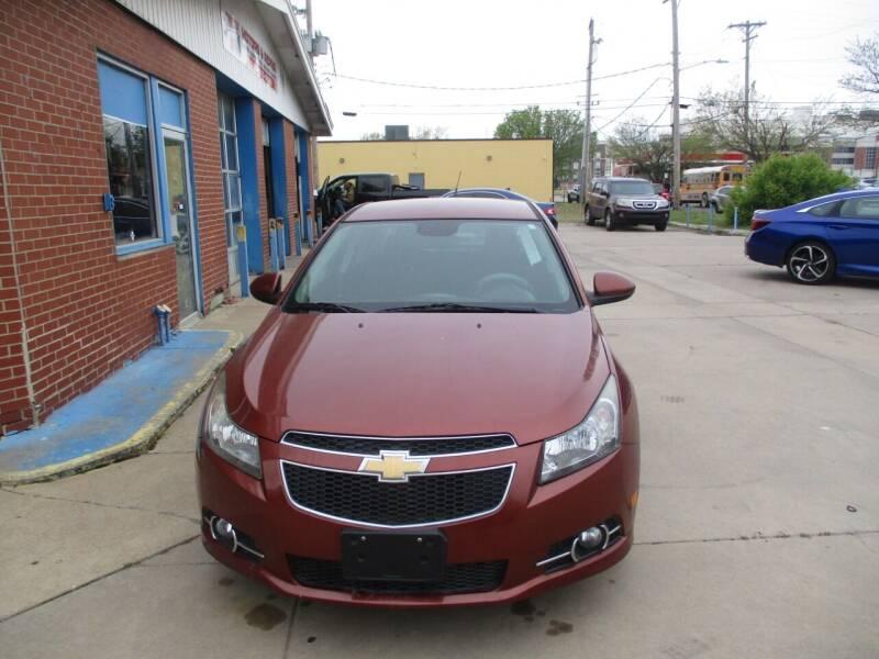 2012 Chevrolet Cruze for sale at Discount Motor Sales LLC in Wichita KS