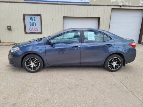 2016 Toyota Corolla for sale at Rev Auto in Clarion IA