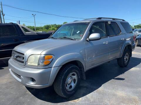 2001 Toyota Sequoia for sale at American Motors Inc. - Cahokia in Cahokia IL