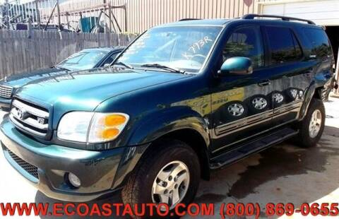2001 Toyota Sequoia for sale at East Coast Auto Source Inc. in Bedford VA