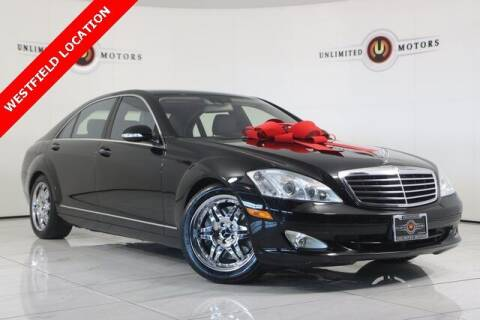 2008 Mercedes-Benz S-Class for sale at INDY'S UNLIMITED MOTORS - UNLIMITED MOTORS in Westfield IN