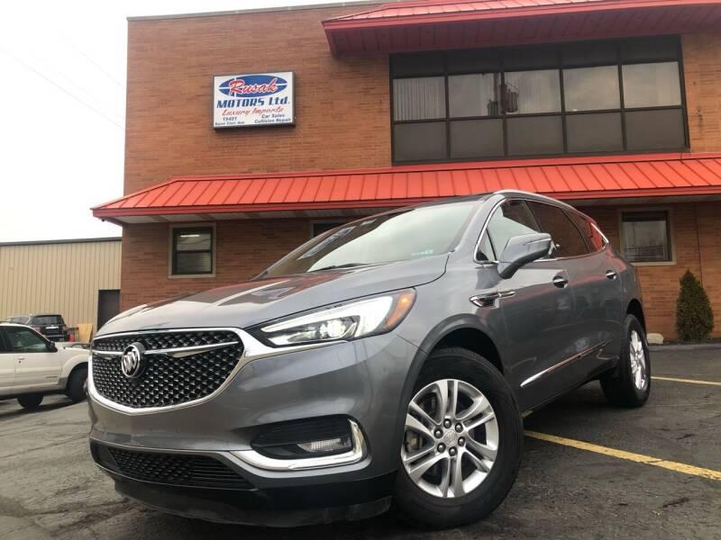 2019 Buick Enclave for sale at Rusak Motors LTD. in Cleveland OH