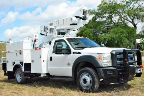 2012 Ford F-550 Super Duty for sale at American Trucks and Equipment in Hollywood FL