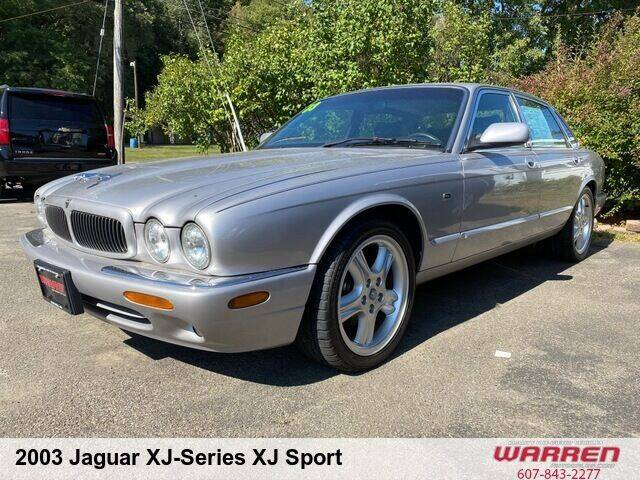 2003 Jaguar XJ-Series for sale at Warren Auto Sales in Oxford NY
