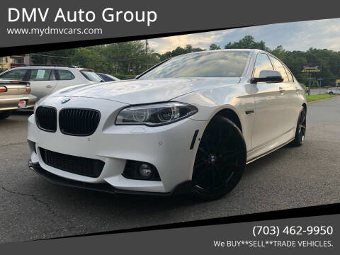 2014 BMW 5 Series for sale at DMV Auto Group in Falls Church VA