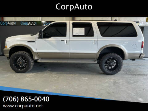 2003 Ford Excursion for sale at CorpAuto in Cleveland GA