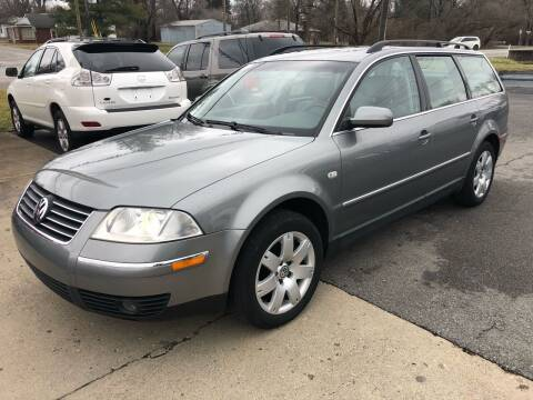 2002 Volkswagen Passat for sale at Wise Investments Auto Sales in Sellersburg IN