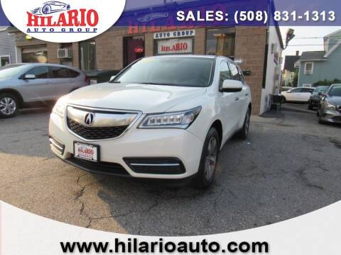 2015 Acura MDX for sale at Hilario's Auto Sales in Worcester MA