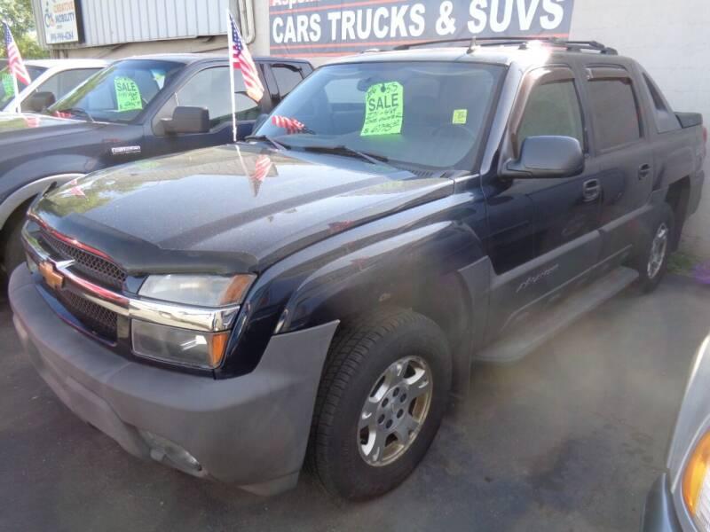 2006 Chevrolet Avalanche for sale at Aspen Auto Sales in Wayne MI