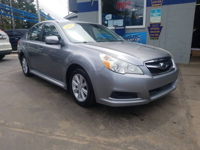 2011 Subaru Legacy for sale at Fleetwing Auto Sales in Erie PA