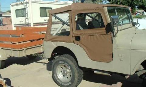 1969 Kaiser Jeep for sale at Classic Car Deals in Cadillac MI