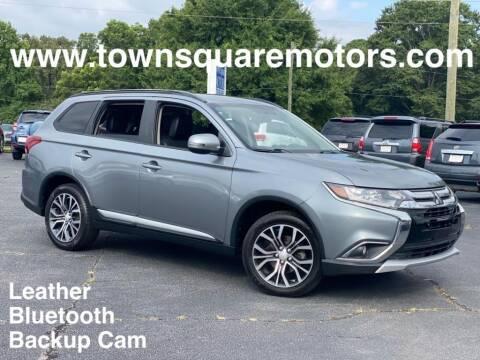 2016 Mitsubishi Outlander for sale at Town Square Motors in Lawrenceville GA