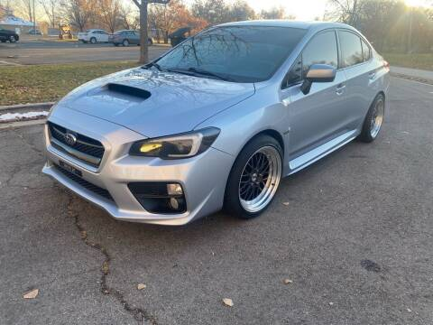 2017 Subaru WRX for sale at The Car-Mart in Murray UT