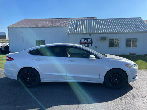 2014 Ford Fusion for sale at B & B Sales 1 in Decorah IA