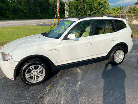 2006 BMW X3 for sale at TOP OF THE LINE AUTO SALES in Fayetteville NC