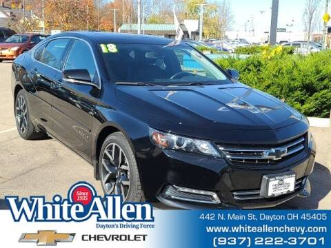 2018 Chevrolet Impala for sale at WHITE-ALLEN CHEVROLET in Dayton OH