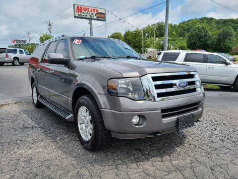 2014 Ford Expedition EL for sale at MARLAR AUTO MART SOUTH in Oneida TN
