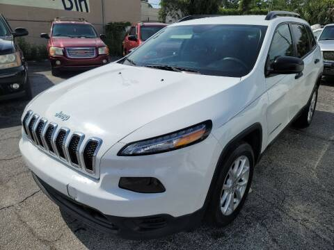 2016 Jeep Cherokee for sale at Castle Used Cars in Jacksonville FL