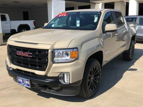 2021 GMC Canyon for sale at Dow Lewis Motors in Yuba City CA
