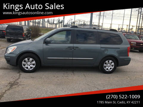 2007 Hyundai Entourage for sale at Kings Auto Sales in Cadiz KY