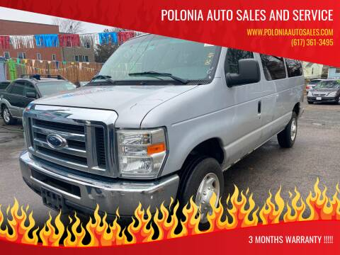 2008 Ford E-Series Wagon for sale at Polonia Auto Sales and Service in Hyde Park MA