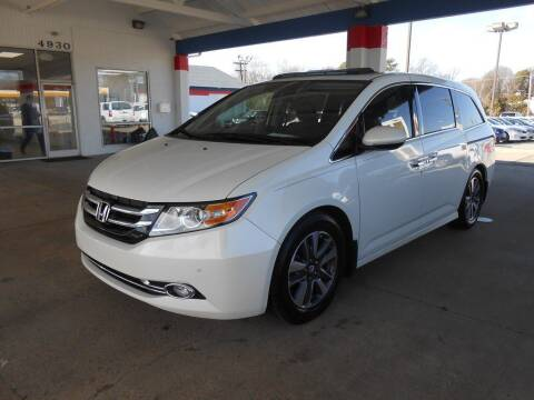 2015 Honda Odyssey for sale at Auto America in Charlotte NC