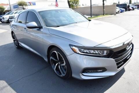 2020 Honda Accord for sale at DIAMOND VALLEY HONDA in Hemet CA
