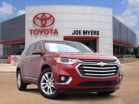 2019 Chevrolet Traverse for sale at Joe Myers Toyota PreOwned in Houston TX