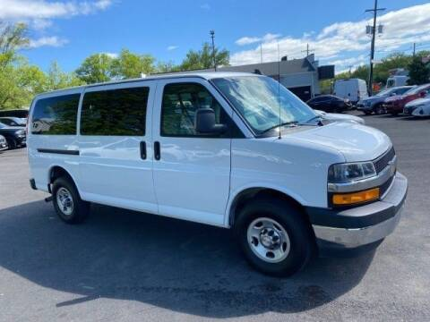 2018 Chevrolet Express Passenger for sale at EMG AUTO SALES in Avenel NJ