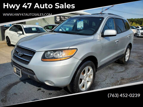 2009 Hyundai Santa Fe for sale at Hwy 47 Auto Sales in Saint Francis MN