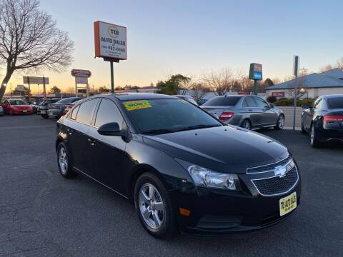 2014 Chevrolet Cruze for sale at TDI AUTO SALES in Boise ID