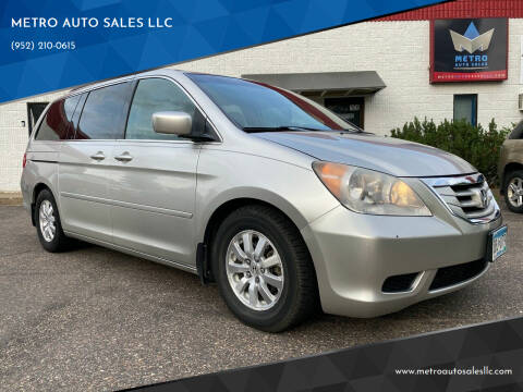 2008 Honda Odyssey for sale at METRO AUTO SALES LLC in Blaine MN