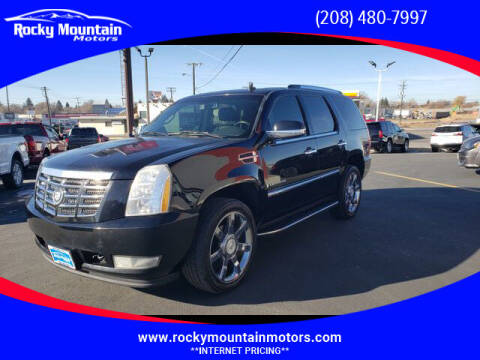 2007 Cadillac Escalade for sale at Rocky Mountain Motors in Idaho Falls ID