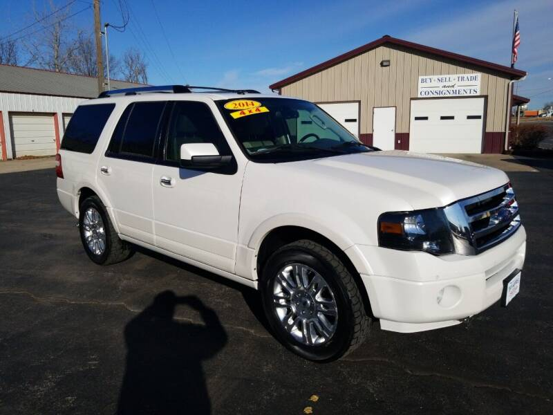 2014 Ford Expedition for sale at Holland's Auto Sales in Harrisonville MO